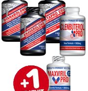 PACK MUSCLE ET SECHE - BOOSTER TESTOSTERONE - PHARMASTEROLS