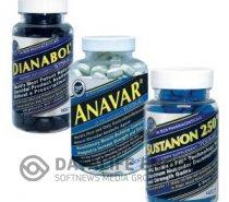 PACK TRIO DIANABOL / ANAVAR / SUSTANON
